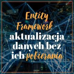 Entity Framework - aktualizacja danych bez ich pobierania