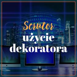 Scrutor użycie dekoratora